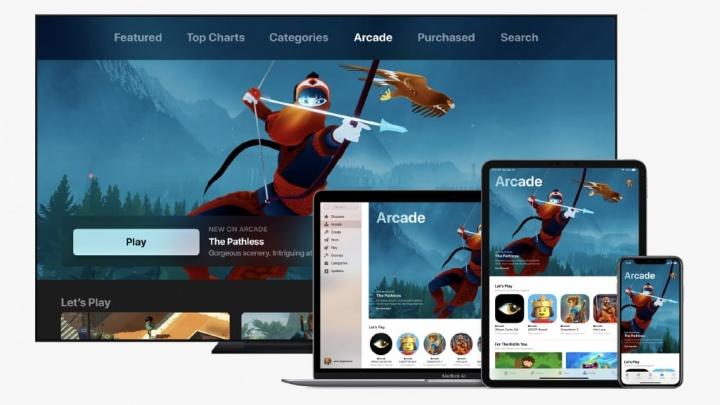 Apple Arcade Google Stadia