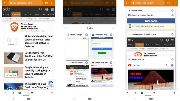Google Chrome Browser Android