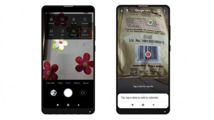 Google Lens MIUI 10 Xiaomi Redmi