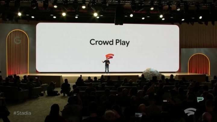 Google Stadia Crowd Play YouTube