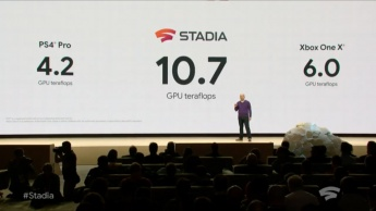 Google Stadia PS4 Xbox Microsoft