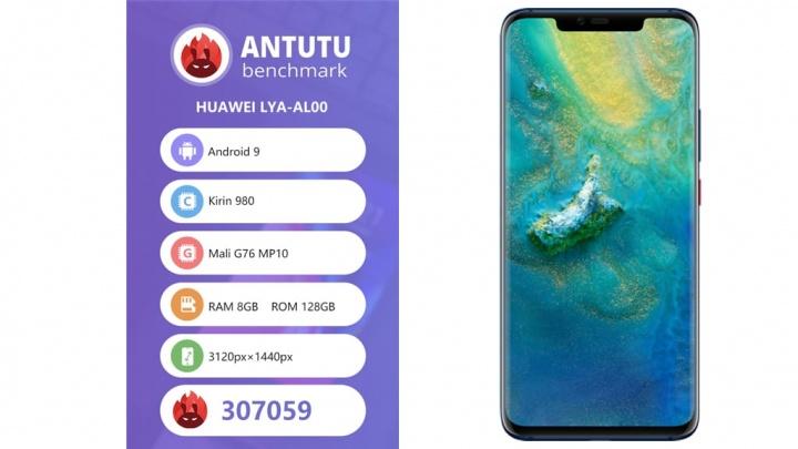 Huawei Mate 20 Pro naAnTuTu