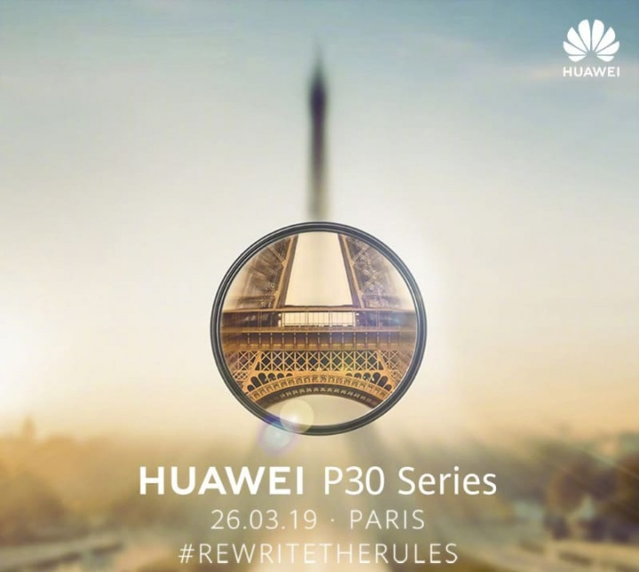 Huawei P30 smartphones Android