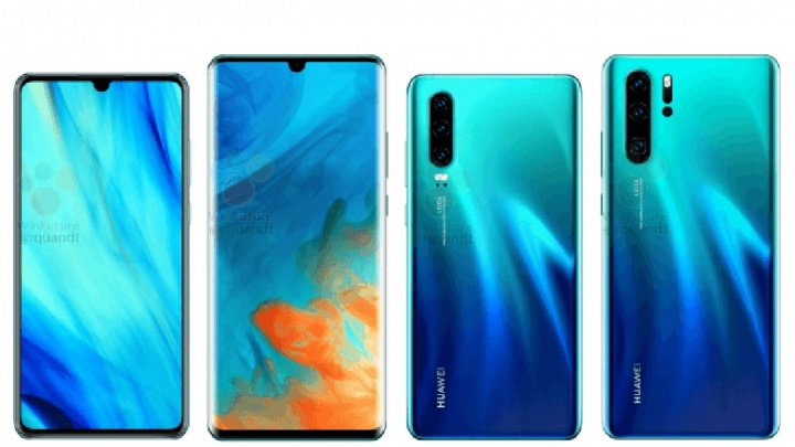 Huawei P30 Huawei P30 Pro Android smartphone