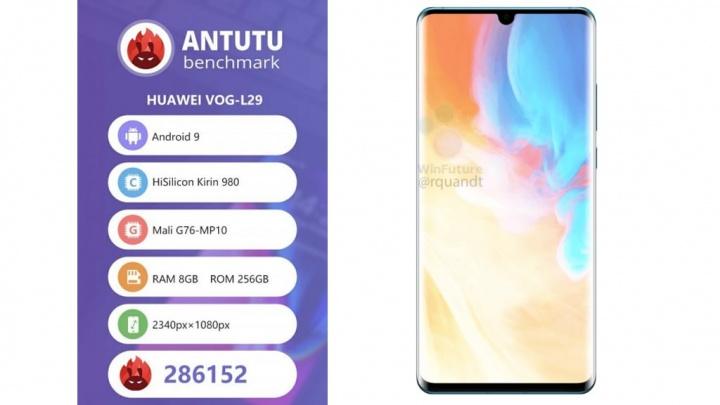 Huawei P30 Pro na AnTuTu