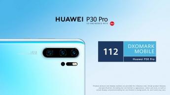 Huawei P30 Pro DxOMark smartphone