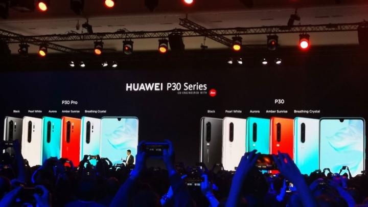 Huawei P30 Pro smartphones capa