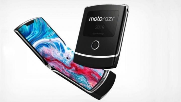 Motorola RAZR smartphone dobrável Lenovo