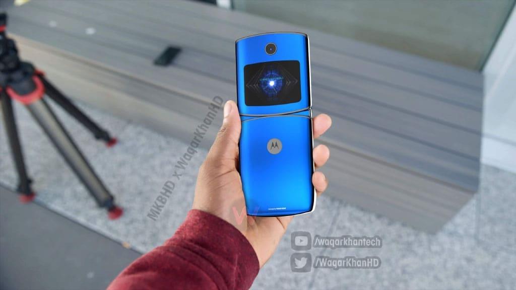 Motorola Razer smartphone dobrável
