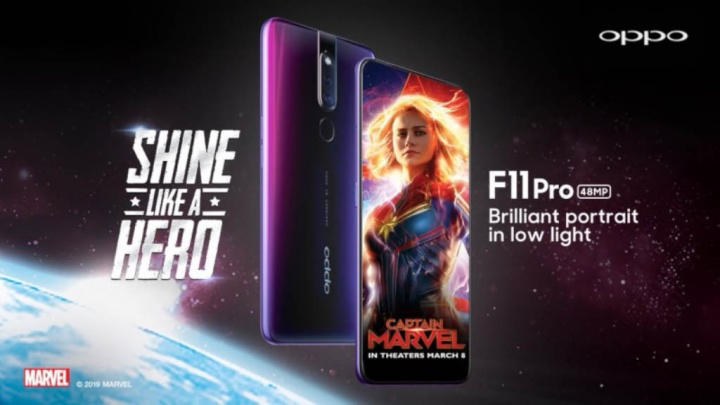 Oppo F11 Pro OnePlus 7 smartphone Android