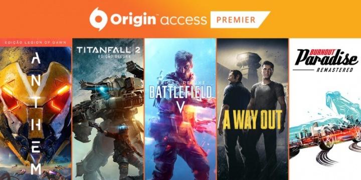 Origin Access: nova fornada de jogos no mês de Março