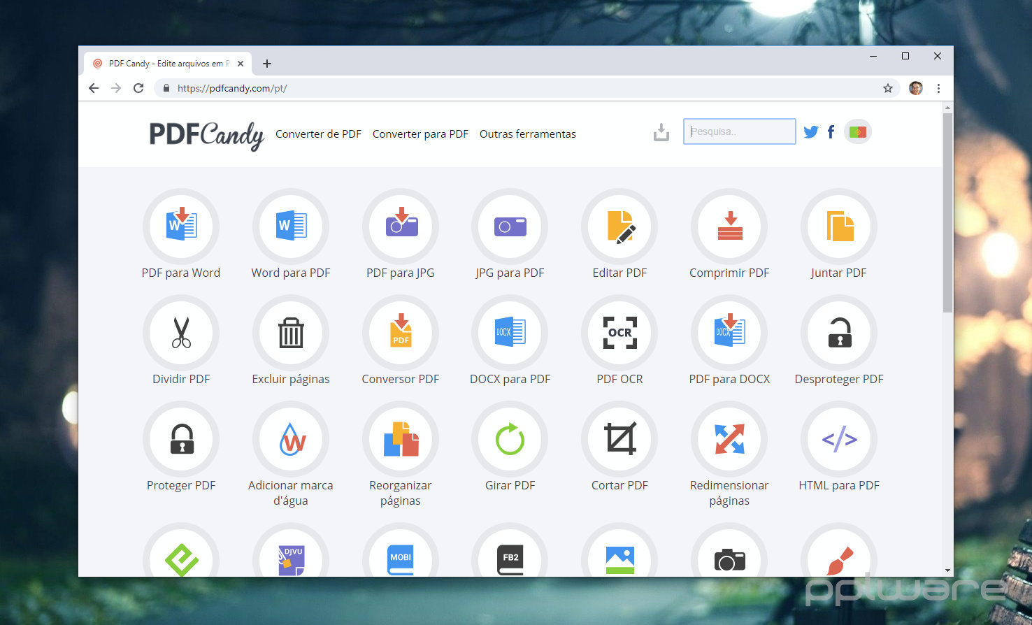 PDF Candy - do any task with PDFs, online and without