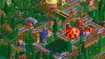 Roller Coaster Tycoon Google Play Store Android Atari