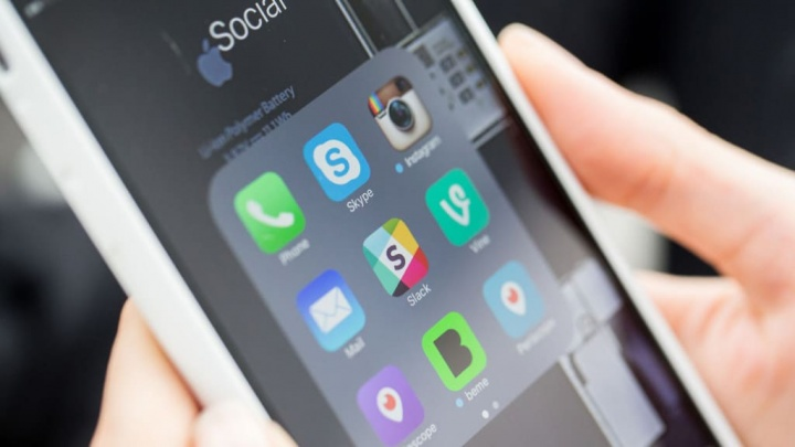 Slack Android iOS Dark Mode app