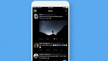 Twitter Dark Mode iOS