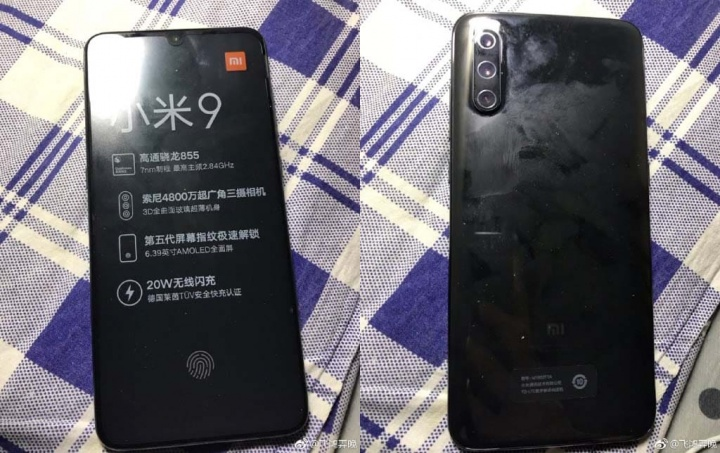 Xiaomi Mi 9 flash smartphone Android