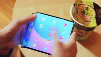 Xiaomi smartphone dobrável Lin Bin