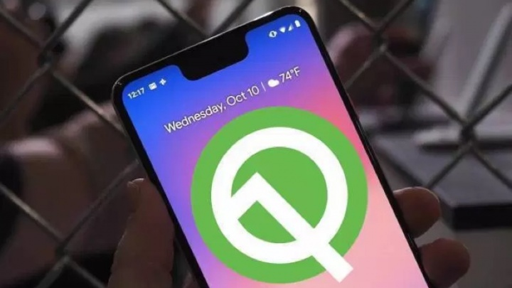 Android Q Google QR Desktop Android
