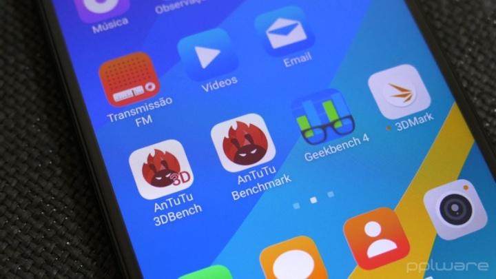 Imagem das apps vindas da loja da Google