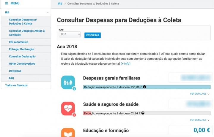 Finanças: Já pode consultar e reclamar despesas de 2018