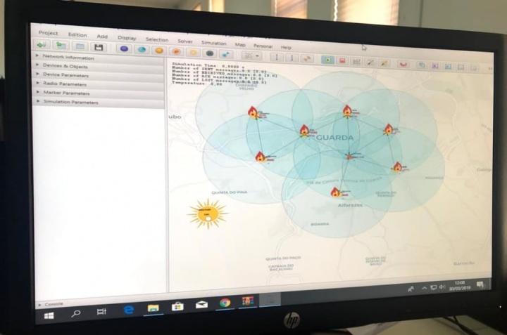CupCarbon: Simulador para smartcities e rede de sensores