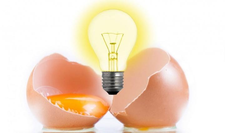 Cascas de ovo podem ser usadas para armazenar energia solar