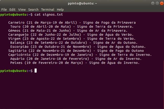 5 comandos para ver o conteúdo de ficheiros no terminal Linux