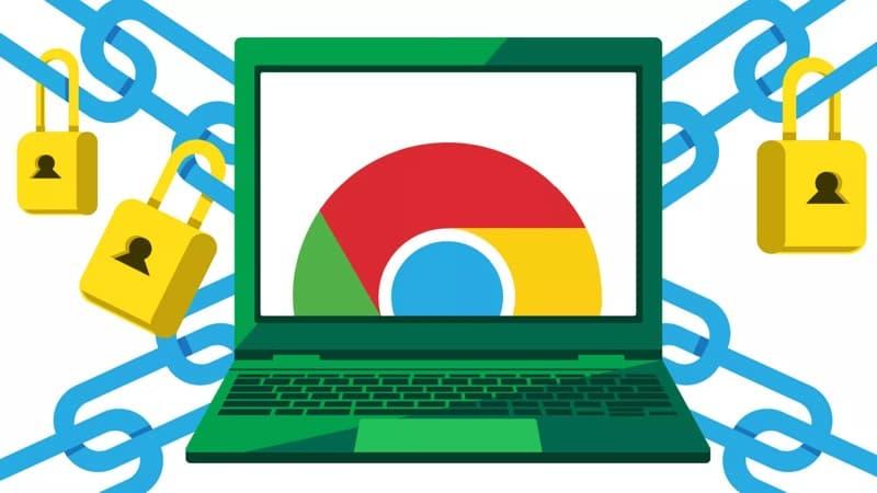 Chrome PDF segurança dados browser