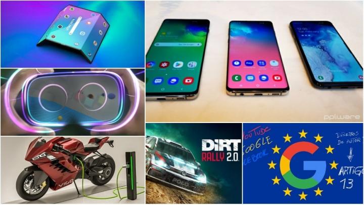 Falámos da Samsung e dos ecrãs dobráveis, do novo Huawei P20, de vários temas da Xiaomi e também apresentámos análises de alguns jogos da PS4 e Xbox One.