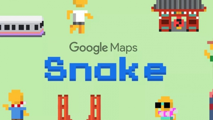 Google Maps Snake mentiras dia