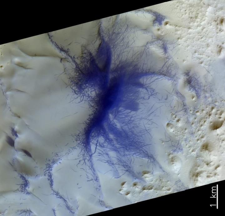 Imagens fantásticas do solo de Marte