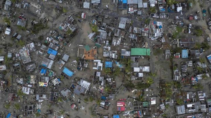 Imagens da catástrofe causada pelo ciclone Idai em Moçambique