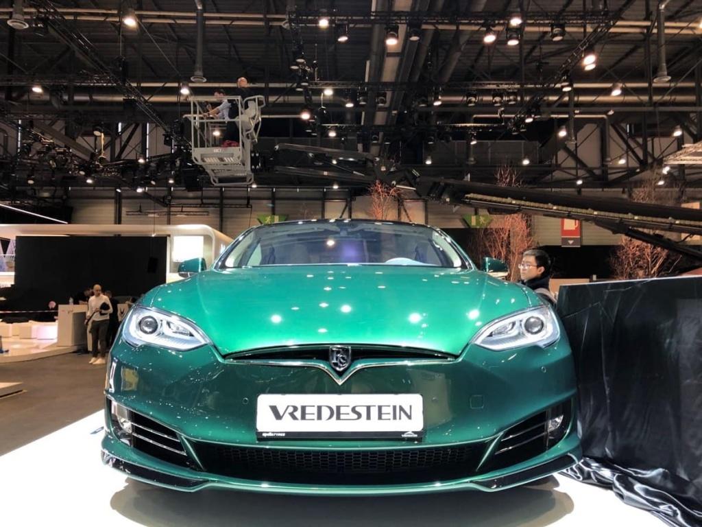 Model S Station Wagon Tesla Genebra elétrico