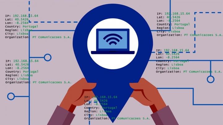 Aprenda a criar em 5 min uma app de geolocalização do seu endereço IP