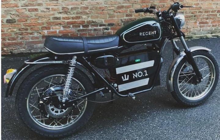 Regent No.1: A moto elétrica com estilo retro e autonomia de 150 km