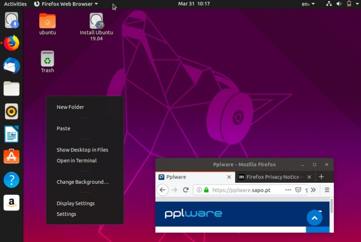 """Chegou o Ubuntu 19 04 """"Disco Dingo"""" Beta! Será que vai ser"""