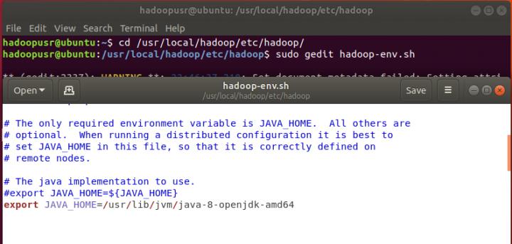 Apache Hadoop - Instalação e configuração de um cluster no