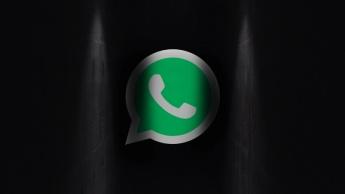 WhatsApp dark mode android app