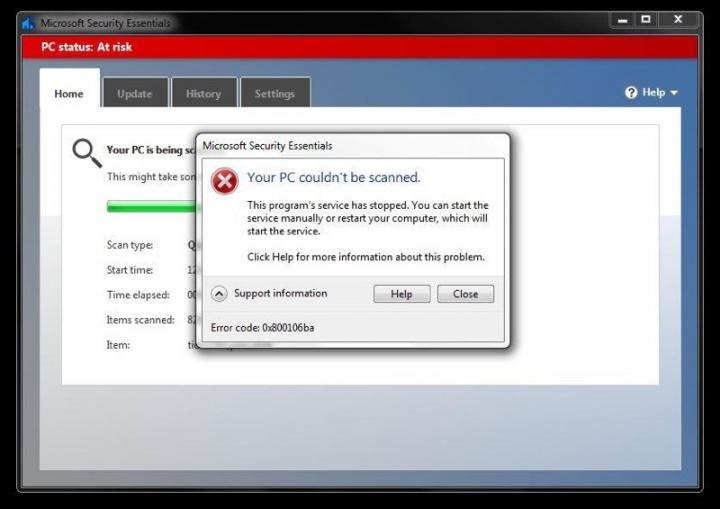Windows 7 Microsoft antivírus Security Essentials Windows Defender