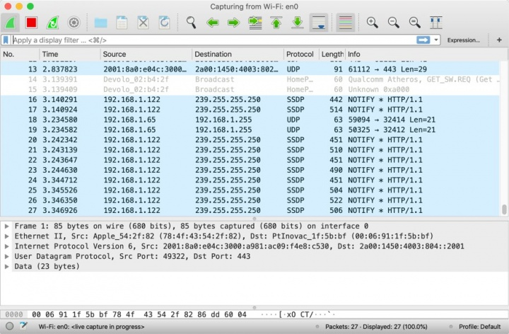 Wireshark 3.0