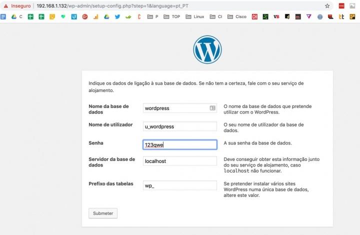 Instalar o WordPress 5 com Apache, MariaDB 10 e PHP 7 no CentOS 7