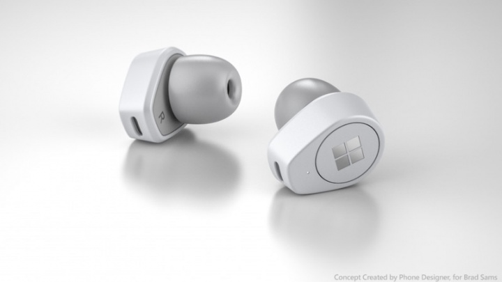 Surface Buds Microsoft AirPods Apple áudio