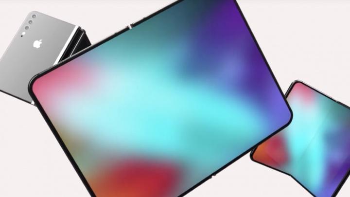 Apple iPhone iFlex dobrável vídeo