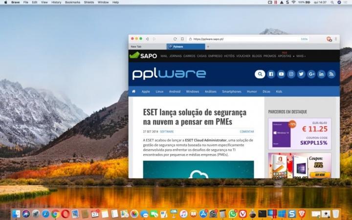 """Browser Brave """"paga"""" a utilizadores por verem anúncios"""