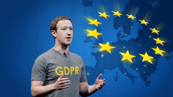 Facebook rede social Comissão Europeia