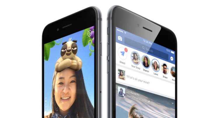 Facebook Stories rede social