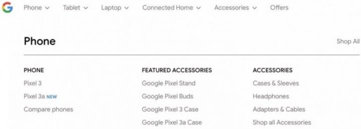 Google Pixel 3a XL smartphones Android