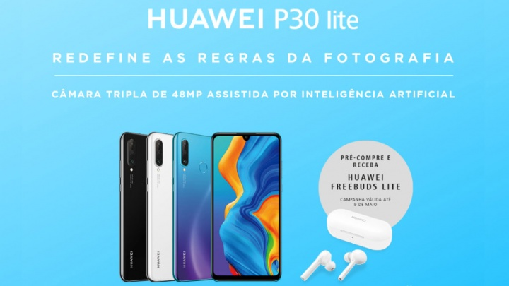 Huawei P30 Lite FeeBuds smartphone Android