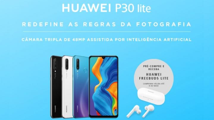 Huawei P30 Lite FeeBuds Android Smartphone