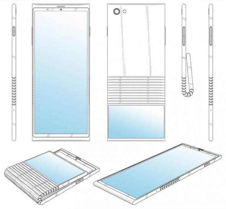 Lenovo smartphone dobrável patente Android